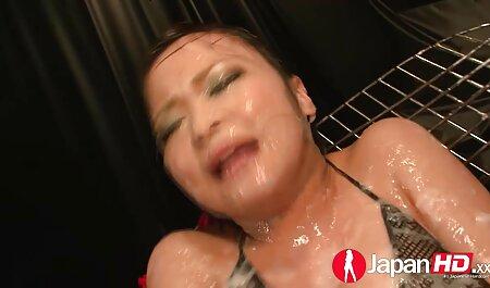 Japonês menina forced para negras fudendo porra com dela namorado com amarrado mãos
